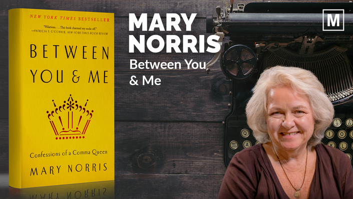 Between You and Me by Mary Norris