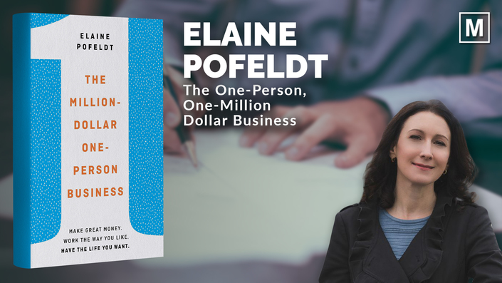 The One-Person, One-Million Dollar Business by Elaine Pofeldt