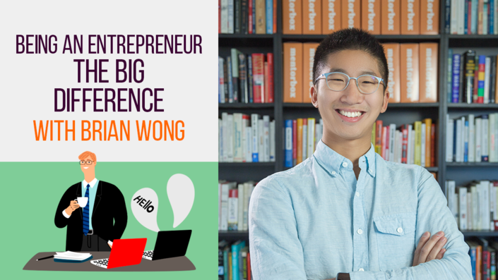 Being an Entrepreneur: The Big Difference