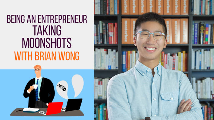 Being an Entrepreneur: Taking Moonshots