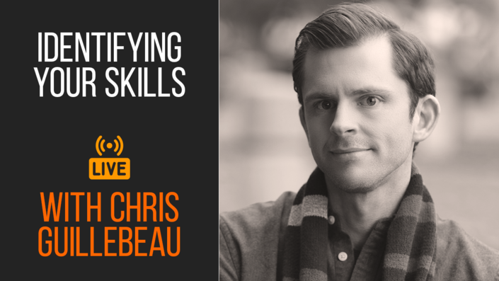Live Session: Identifying Your Skills with Chris Guillebeau