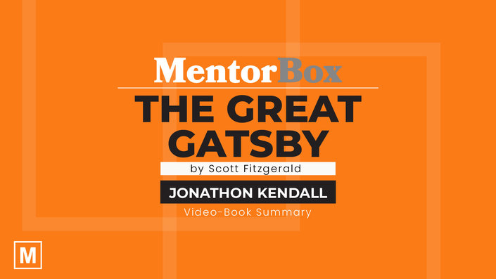 The Great Gatsby by F. Scott Fitzgerald with Jonathon Kendall